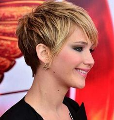 30 Short Pixie Haircuts Trending In A pixie haircut is one of the most beautiful and stylish short women's hairstyle you can see all the time on fashion shows., Pixie Haircuts and Hairstyles Pixie Haircut 2014, Short Pixie Haircuts, Pixie Hairstyles, 2014 Hairstyles, 1940s Hairstyles, Long Haircuts, Casual Hairstyles, Medium Hairstyles, Celebrity Hairstyles