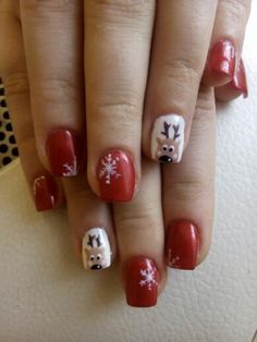 Xmas nails.