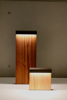 Wood Collection bollard by Simes
