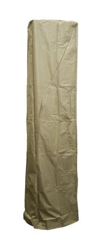 Patio Heater Covers   AZ Patio Heaters HVDSGTCVT Heavy Duty Glass Tube Cover  In Camel Color