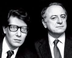 Pierre Bergé was Yves Saint Laurent's partner in business, and romantically.