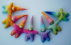 Waldorf inspired Rainbow Gnome