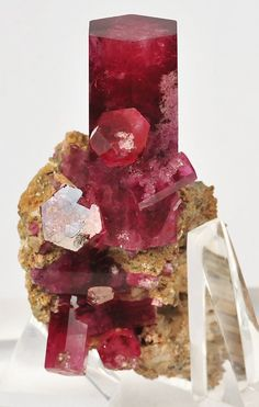 Red Beryl - Harris Claim, Wah Wah Mountains, Utah, USA