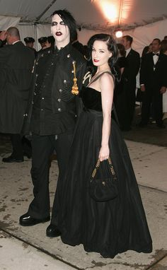 Pin for Later: The 59 Most Memorable Moments From Past Met Galas Marilyn Manson and Dita Von Teese — 2005
