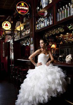 Tampa editorial photographer Bob Croslin shoots wedding fashion for Bay Magazine in St. Petersburg