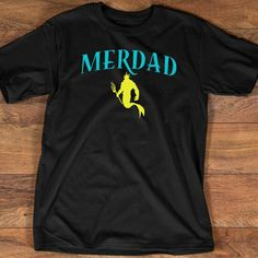 Custom Toddler T-Shirt Mini Merbaby Baby Mermaid Shell Fish Funny Humor Cotton