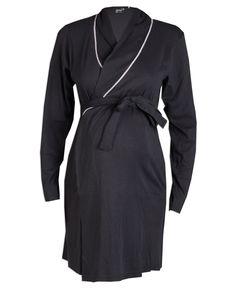 Dit positie vest van Prenatal Nightwear is gemaakt van een zacht katoen met ajour dessin. Het positie vest heeft een overslag en een afneembaar koord die in de taille gestrikt kan worden.