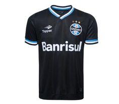 Grêmio Mania - A Loja Oficial do Grêmio - Linha Oficial - Uniforme III/2013 - Camisa Oficial III Black 2013