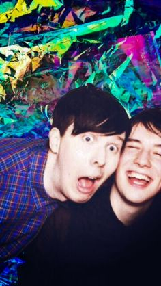 Heres the actual picture  i found it on tumblr so creds to the person who made it Also the original picture has cat in it but the person cropped her out probably bc phan