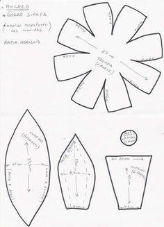 Moldes para gorros de goma espuma para imprimir - Imagui Sombreros De Goma  Espuma 7d64cb20ee0