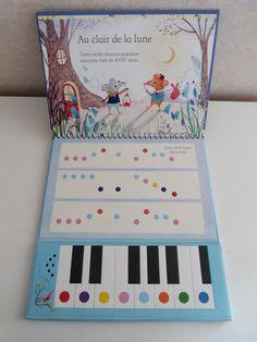 Mon premier livre-piano | Devine Qui Vient Bloguer?
