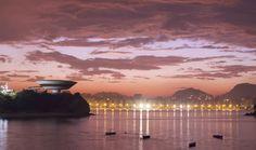 Museu de Arte Contemporânea de Niterói (MAC), Niterói - RJ,Brasil - Oscar Niemeyer
