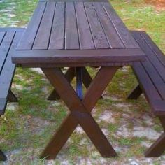 Free DIY Furniture Plans To Build A PotteryBarn Inspired Chesapeake - Pottery barn picnic table