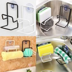 30 handy designs and craft ideas to keep homes organized and neat kitchen organizer rack sink storage draining towel sponge holder suction cup unbranded workwithnaturefo