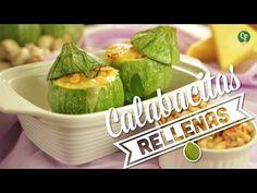 ¿Cómo preparar Calabacitas Rellenas? - Cocina Fresca