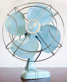vintage electric fan.