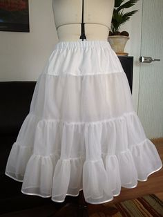 The 50's petticoat - I really need to make a backup of this.