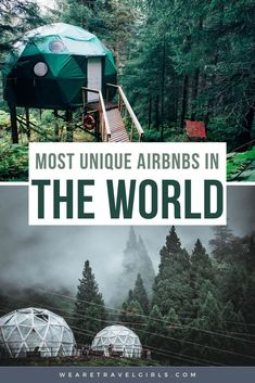 All around the world, you will find unique and beautiful AirBnBs, from igloos in Norway to windmills in Amsterdam, castles, private islands, planes, windmills, and incredible villas in Bali! We've put together a list of the 30+ most unique AirBnBs in the world that you can book for yourself including some of the best airbnbs around the world. No matter what type of unique Airbnb experience you are looking for, this list will help you find all the best unique vacation rentals in the world! Unique Hotels, Best Hotels, Vacation Destinations, Vacation Rentals, Travel Advice, Travel Guides, Windmills In Amsterdam, Couples Vacation, Countries To Visit