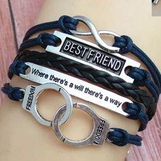 Best friend Partners in crime bracelet Partners in crime bracelet 4 available Jewelry Bracelets