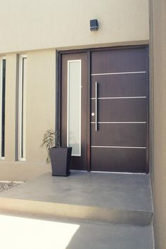 35 Ideas For Entrance Door Design Main Modern Entrance Door, Main Entrance Door Design, Door Gate Design, Door Design Interior, Wooden Door Design, Modern Front Door, House Front Door, Front Door Design, House Doors