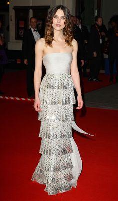 See Keira Knightley's Best Red Carpet Moments (Thus Far). #redcarpet #dress #BAFTA @Valentino