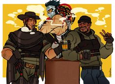lipeka:   blackwatch boyz - I'm not actually a robot, but not that you can tell