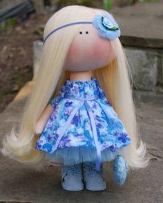 "81 Me gusta, 2 comentarios - лора (@dolls_by_lora) en Instagram: ""Ангелочек ищет дом. Рост 26см. 2400р.#кукларучнойработы #кукла #куклаизткани #dolls #like…"""