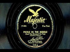 """Louis Prima & His Orchestra - """"Pickle In The Middle"""" Pickle In The Middle, Louis Prima, Pickles, Videos, Music, Orchestra, Pickle, Muziek, Musik"""