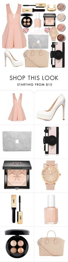 """Thanks for 14,000views & 5,500likes"" by elinajuslin ❤ liked on Polyvore featuring Charlotte Russe, Kate Spade, Givenchy, Essie, MAC Cosmetics, Terre Mère, Tiffany & Co. and Big Bud Press"
