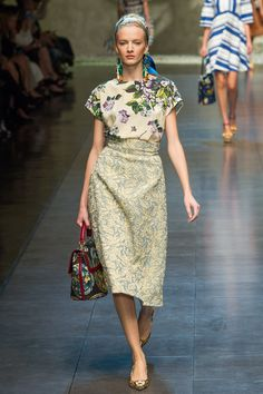 mix and match Dolce and Gabbanna
