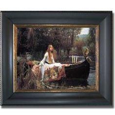 John Waterhouse 'The Lady of Shallot'
