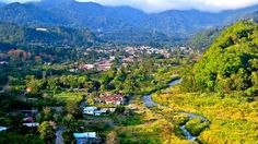 The town of Boquete, Panama