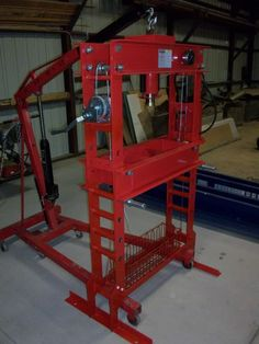 Harbor freight 50 ton press modifications... - Pirate4x4.Com : 4x4 and Off-Road Forum