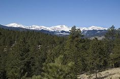 View of Mt. Evans from Upper Bear Creek