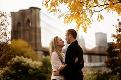 Engagement Shoot: A Walk Across the Brooklyn Bridge Pick a location that gives the session a unifying theme!