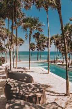 Widely regarded as one of the coolest hotels in Tulum, Papaya Playa Project embodies the concept of a boho-style beach hangout, inviting its guests and visitors to reconnect with their inner free spirit. Tulum Mexico Resorts, Tulum Hotels, Beach Wallpaper, Summer Wallpaper, Beach Aesthetic, Travel Aesthetic, Aesthetic Backgrounds, Aesthetic Wallpapers, Beach Photography