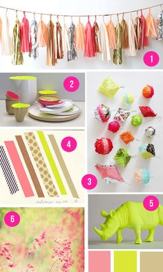 neon + neutral color inspiration via hey look