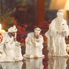 Belleek Three Kings - Christmas Nativity
