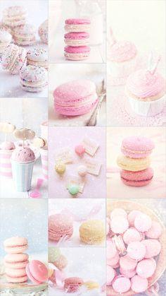 macaroon,pink,cute,pastel Iphone Wallpaper Tumblr Aesthetic, Aesthetic Pastel Wallpaper, Pink Aesthetic, Aesthetic Wallpapers, Iphone Mobile Wallpaper, Galaxy Wallpaper, Pusheen Cute, Pastel Background, Cute Patterns Wallpaper