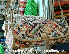 Dyaryo Bags for Life - Eco-Friendly Handbags, Totes, Purses and Shopping Bags by Luzviminda Madriñan Newspaper Bags, Shopping Bags, Diaper Bag, Eco Friendly, Totes, Handbags, Purses, Life, Dime Bags