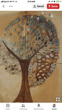 Kachle – zuzana-strakova – album na Rajčeti Slab Ceramics, Pottery Designs, Tree Of Life, Ceramic Art, Tiles, Mosaic, Porcelain, Tapestry, Clay