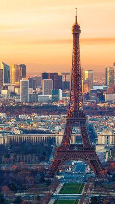 City of #Paris France. Eiffel Tower.