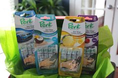 Perk Vent Wraps giveaway....four different kids - one pack lasts FOREVER! I pull out a new one when I want my car to smell fresh!