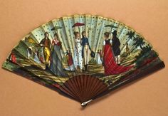 frenc fan; ca 1795-1800