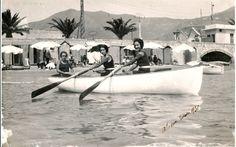 Spiaggia di Alassio, estate 1931. #moda #vintage #Alassio #Riviera #Liguria #viaggi #vacanza #holiday #journey #retro #anniTrenta #the1930s