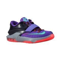 5d8b43cb2a38 Nike KD 7 Boys  Grade School ❤ liked on Polyvore featuring shoes
