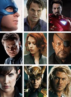 Avengers (and Loki)