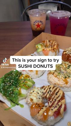Sushi Recipes, Dinner Recipes, Cooking Recipes, Healthy Recipes, Food Places, Places To Eat, Sushi Donuts, Houston Food, Texas Travel