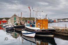Hafen auf den Shetlands