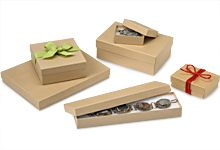 Kraft Jewelry Boxes - Nashville Wraps. Also try Papermart
